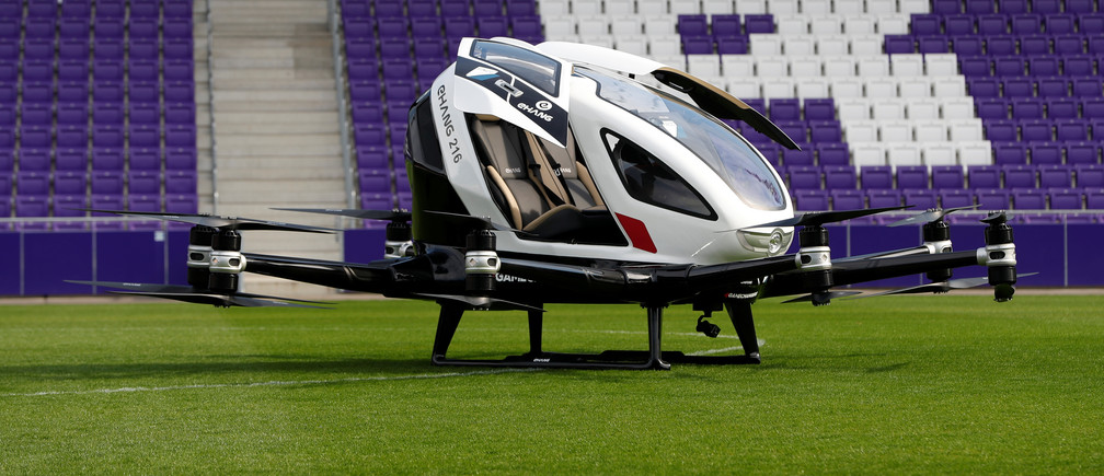Flying taxis could transform our cities