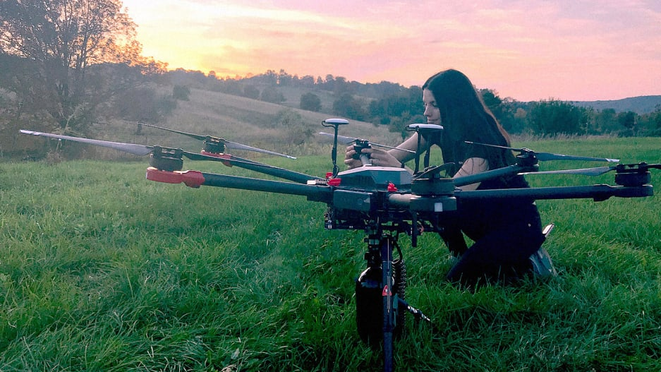 Flash Forest's drones can plant trees a lot faster than humans