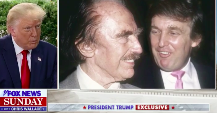 President Trump defends his father after Mary Trump's book denigrates Fred Trump Sr.