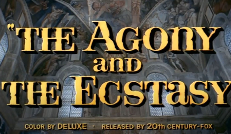 Movie Review: The Agony and The Ecstasy