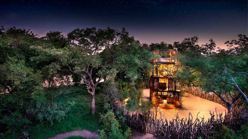 Sleep Under the Stars in the African Bush