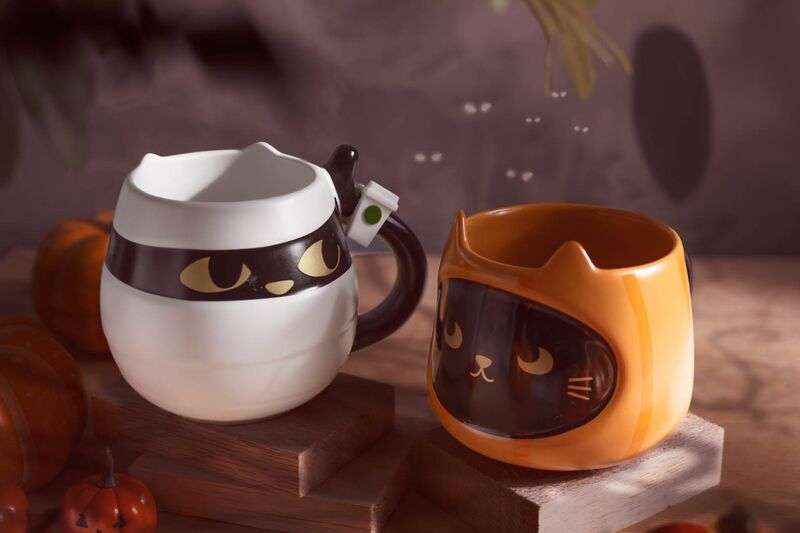 Starbucks' Cat Coffee Cups Have Arrived for Its Halloween Collection