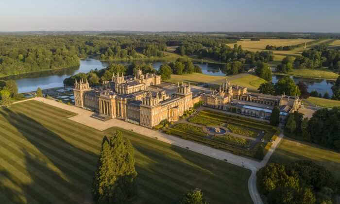 Blenheim Palace: Prim on the Outside, Lavish on the Inside