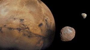 Mysterious Origins of Mars' Moons May Finally be Solved