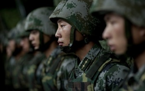 Beijing Holds Military Drills as Biden Delegation Visits Taiwan