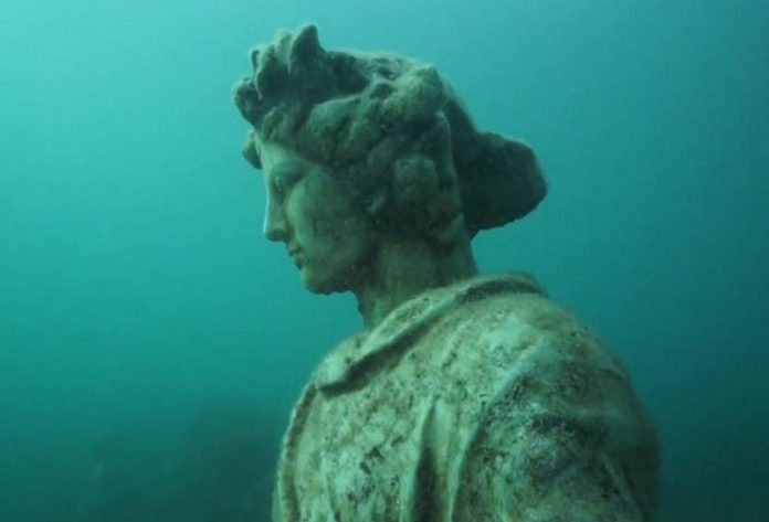 Scuba Diving in the Underwater City of Baiae