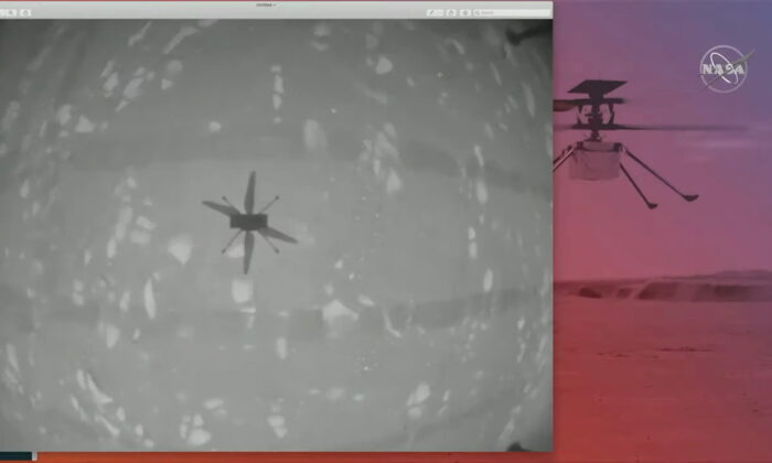 NASA Scores Wright Brothers Moment With First Helicopter Flight on Mars