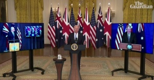 US, UK, and Australia forge a new military alliance to curb China