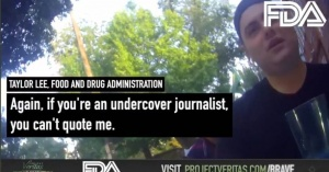 """Part II of Project Veritas' Bombshell Covid Vaccine Recordings – FDA Employee Feds Need to Create a 'Nazi-Germany' Style Registry of Unvaccinated Americans, """"Go Door to Door and Stab Everyone"""""""