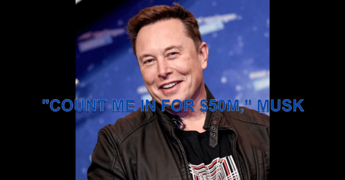 Elon Musk greets SpaceX civilian crew with a $50 million pledge to the St Jude Children's Research Hospital
